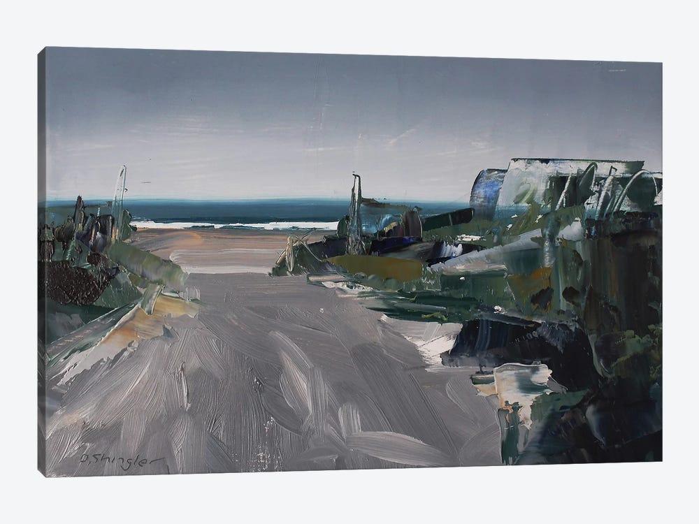 Rainy Path by David Shingler 1-piece Canvas Print