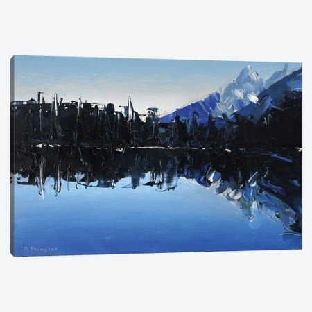 Reflections At Lake Marion 3-Piece Canvas #SHG30} by David Shingler Canvas Artwork