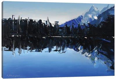 Reflections At Lake Marion Canvas Art Print