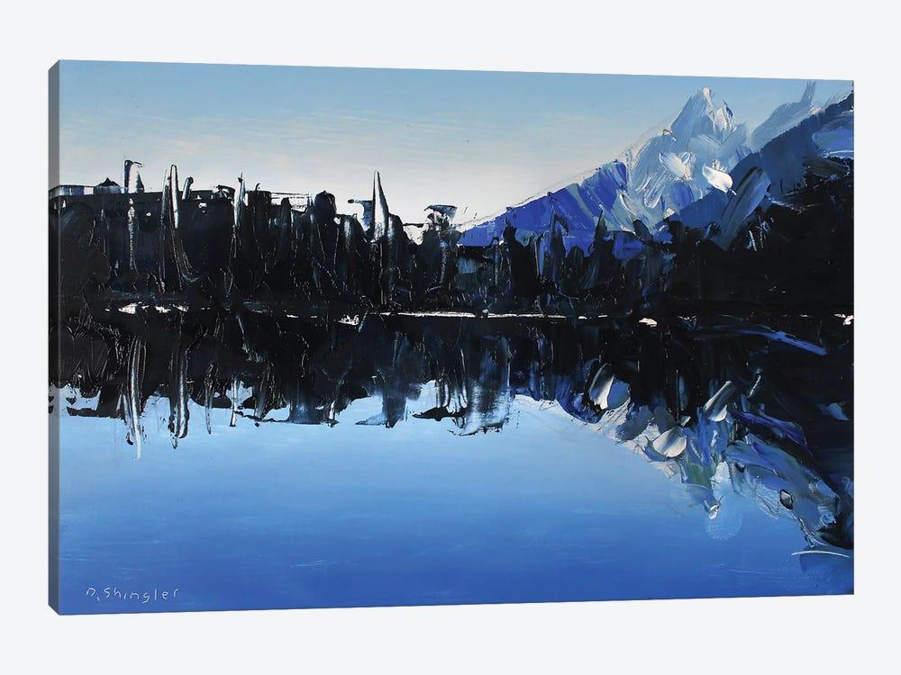Reflections At Lake Marion by David Shingler 1-piece Canvas Print
