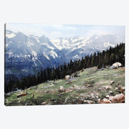 Rocky Mountain National Park Colorado I Canvas Print #SHG31} by David Shingler Canvas Wall Art