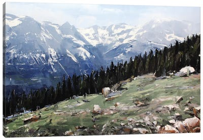 Rocky Mountain National Park Colorado I Canvas Art Print
