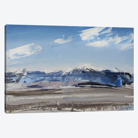 Sangre de Cristo Mt. Colorado Canvas Print #SHG33} by David Shingler Canvas Art