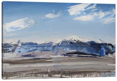 Sangre de Cristo Mt. Colorado Canvas Art Print