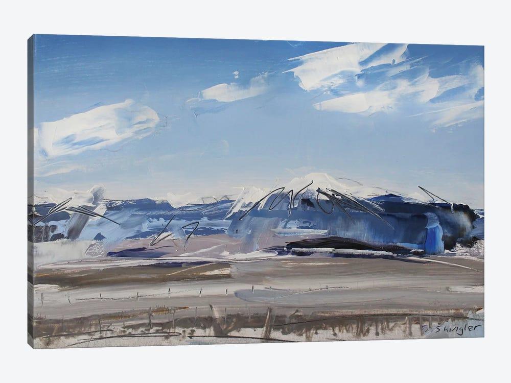 Sangre de Cristo Mt. Colorado by David Shingler 1-piece Canvas Wall Art