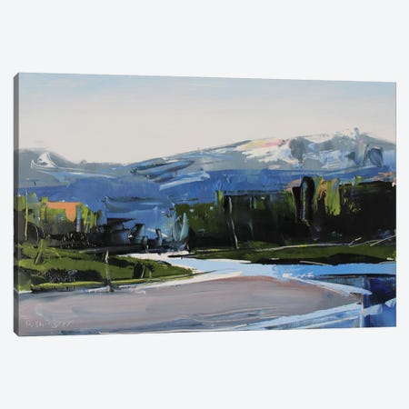 Snake River, WY 3-Piece Canvas #SHG34} by David Shingler Canvas Art Print