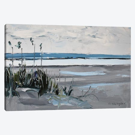 Wrightsville Beach, NC 3-Piece Canvas #SHG40} by David Shingler Art Print