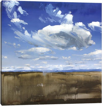 Wyoming Clouds Canvas Art Print