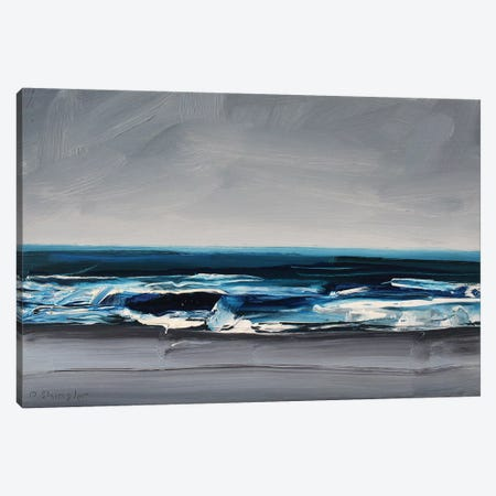 Atlantic Beach, NC 3-Piece Canvas #SHG4} by David Shingler Canvas Wall Art