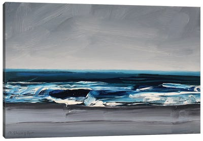 Atlantic Beach, NC Canvas Art Print