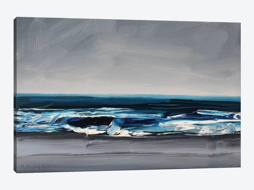 Atlantic Beach, NC by David Shingler 1-piece Canvas Print