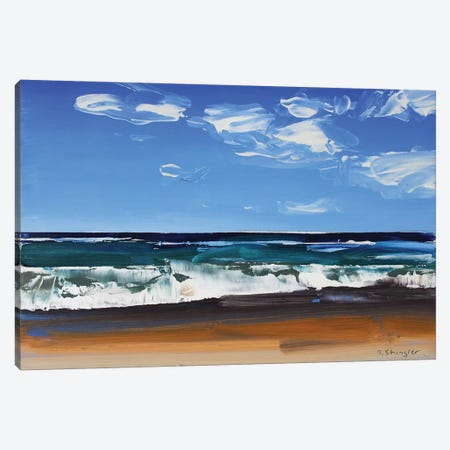 Cape Hatteras National Seashore II 3-Piece Canvas #SHG6} by David Shingler Canvas Artwork