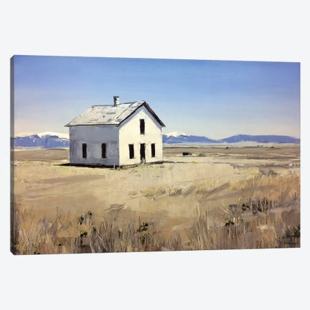 Colorado House I Canvas Print #SHG9} by David Shingler Canvas Print