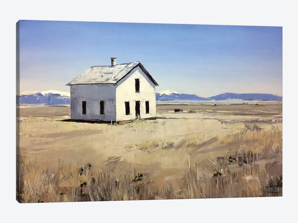 Colorado House I by David Shingler 1-piece Canvas Artwork