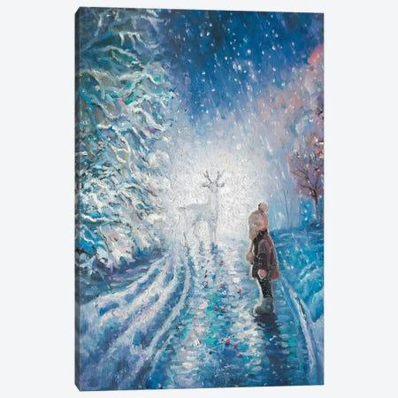 Winter Fairytale Canvas Print #SHH53} by Lana Shamshurina Art Print