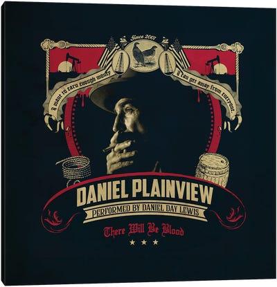 Daniel Plainview Canvas Art Print