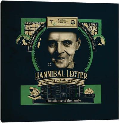 Hannibal Lecter Canvas Art Print