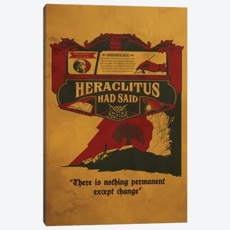 Heraclitus Canvas Print #SHI26} by Shinewall Canvas Wall Art