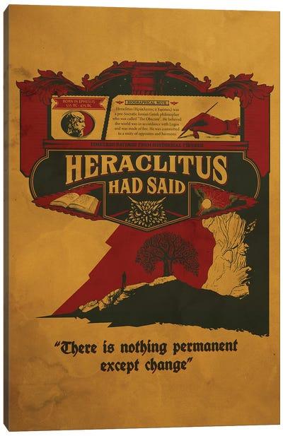 Heraclitus Canvas Art Print