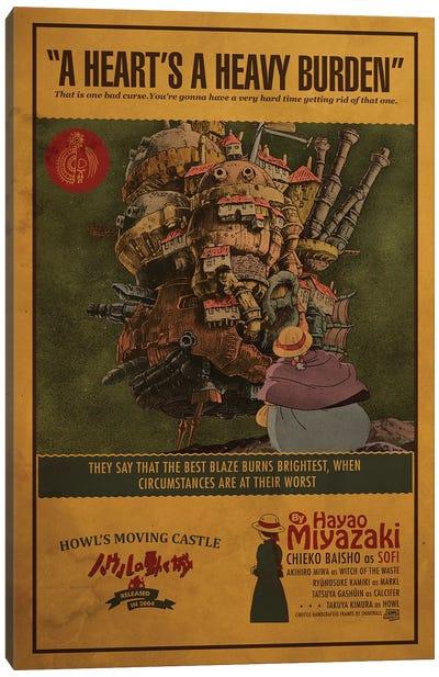 Howls Moving Castle Canvas Art Print