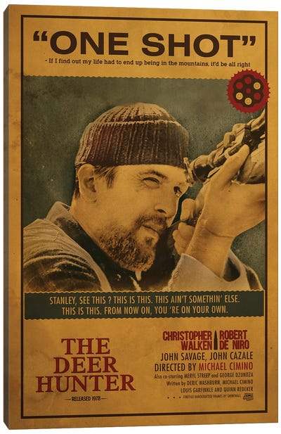 The Deer Hunter Canvas Art Print