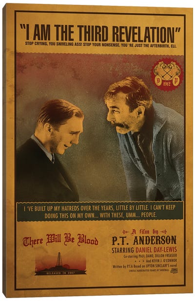 There Will Be Blood Canvas Art Print