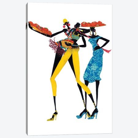 Jolie Canvas Print #SHK3} by Shan Kelly Art Print