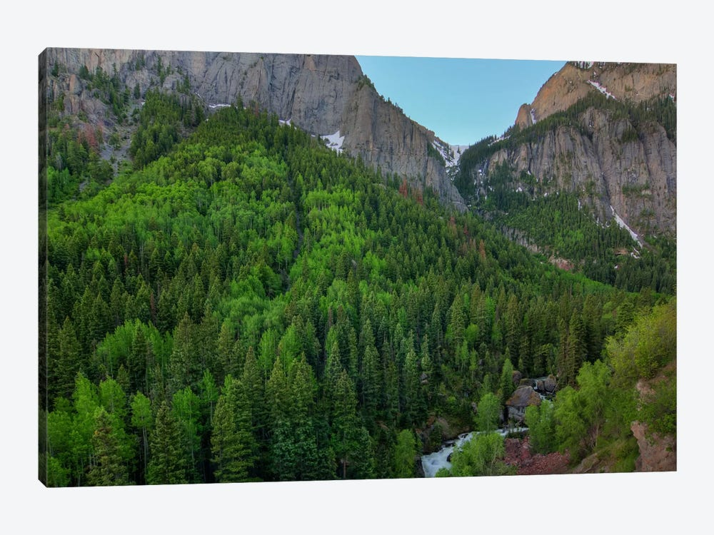 A Mountain Of Green by Bill Sherrell 1-piece Canvas Art