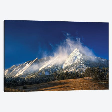 Frozen Whimsey Canvas Print #SHL114} by Bill Sherrell Canvas Artwork