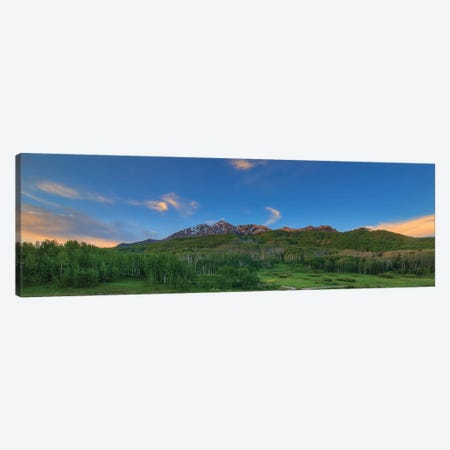Green Serenity Canvas Print #SHL122} by Bill Sherrell Canvas Artwork