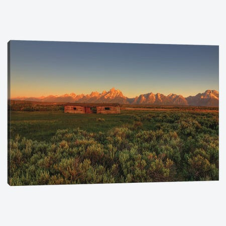 Hardship Amidst Beauty Canvas Print #SHL123} by Bill Sherrell Canvas Art