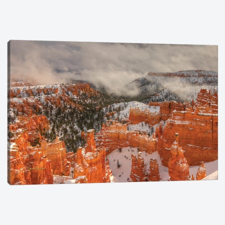 Hoodoos And Light play Canvas Print #SHL125} by Bill Sherrell Canvas Print