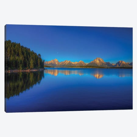 Lake Jackson Canvas Print #SHL129} by Bill Sherrell Canvas Wall Art