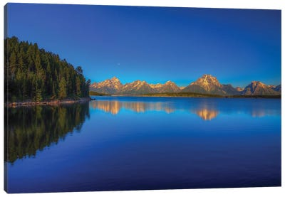 Lake Jackson Canvas Art Print