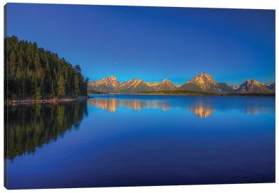 Lake Jackson Canvas Art Print