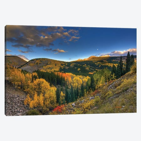 Morning Glory At Coal Bank Pass Canvas Print #SHL139} by Bill Sherrell Canvas Art Print