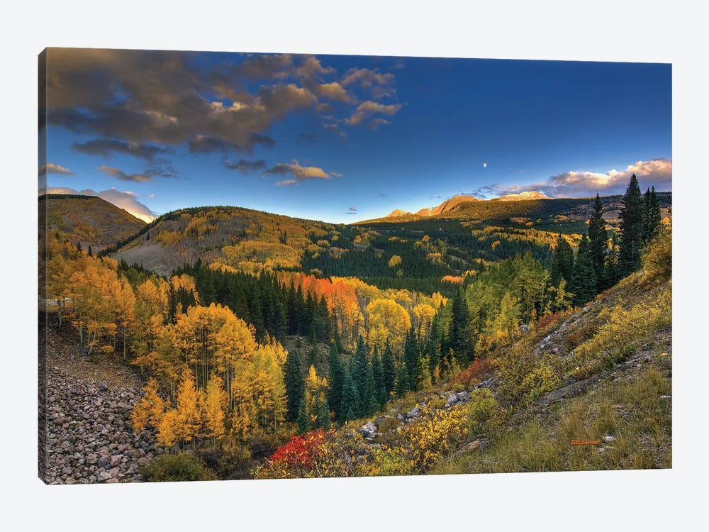 Morning Glory At Coal Bank Pass by Bill Sherrell 1-piece Canvas Print
