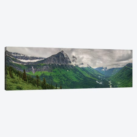 Mountain Storm Canvas Print #SHL143} by Bill Sherrell Canvas Artwork