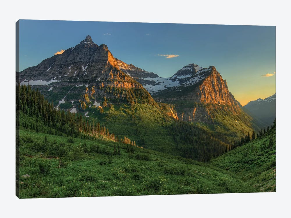 Mountains That Beckon by Bill Sherrell 1-piece Canvas Wall Art