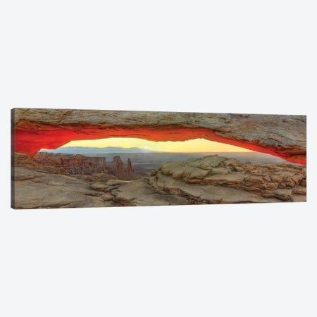 New Day Dawning At Mesa Arch Canvas Print #SHL147} by Bill Sherrell Art Print