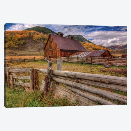 A Simpler Life Canvas Print #SHL15} by Bill Sherrell Canvas Art