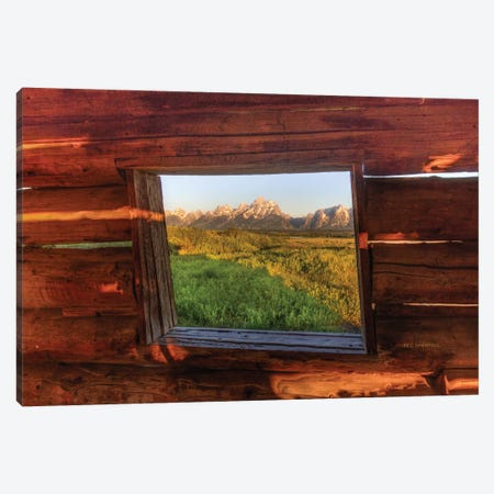 Picture Window Canvas Print #SHL163} by Bill Sherrell Canvas Wall Art