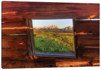 Picture Window Canvas Art Print