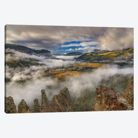 Revelation Valley Canvas Print #SHL168} by Bill Sherrell Canvas Artwork