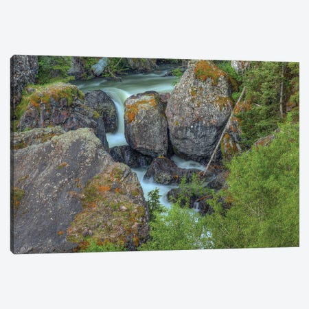 Rocks On A Grand Scale Canvas Print #SHL172} by Bill Sherrell Canvas Art Print
