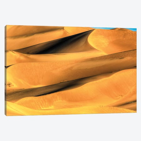 Sand Dune Patterns Canvas Print #SHL175} by Bill Sherrell Canvas Artwork