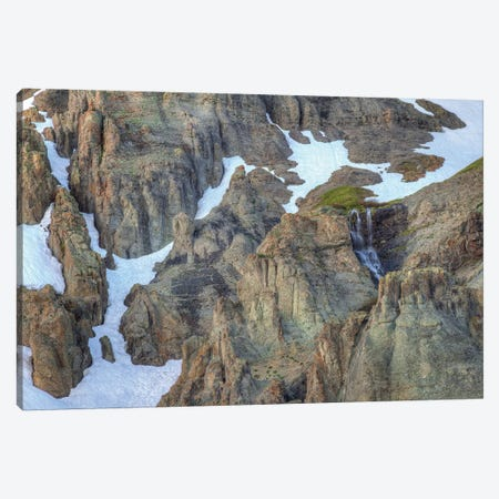 Snowmelt Canvas Print #SHL183} by Bill Sherrell Canvas Wall Art