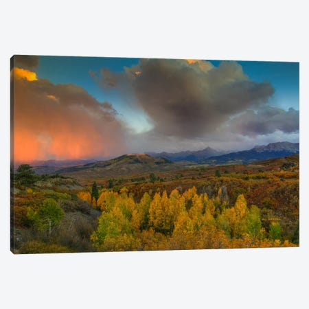 A Storm Of Light Canvas Print #SHL18} by Bill Sherrell Art Print