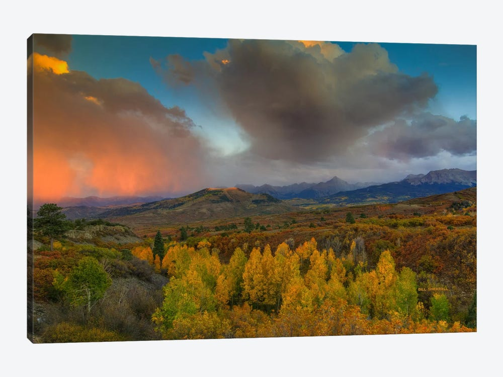 A Storm Of Light by Bill Sherrell 1-piece Canvas Artwork