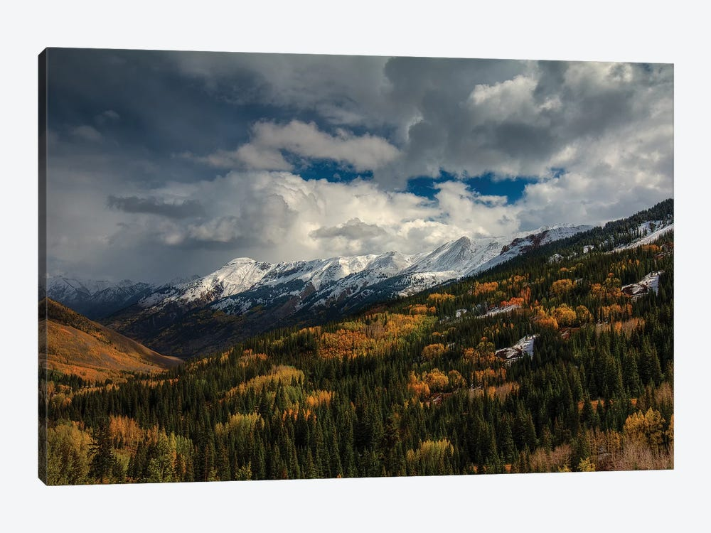 Storm Over Red Mountain Pass by Bill Sherrell 1-piece Canvas Print